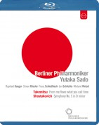Yutaka Sado, Berliner Philharmoniker: Takemitsu: From me flows what you call time -  Shostakovich: Symphony No. 5 - BluRay