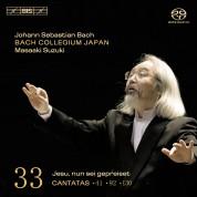 Bach Collegium Japan, Masaaki Suzuki: J.S. Bach: Cantatas, Vol. 33 - SACD