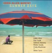 Eddie Allen Quintet: Summer Days - CD