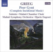 Bjarte Engeset: Grieg: Orchestral Music, Vol. 5: Peer Gynt (Complete Incidental Music) - Foran Sydens Kloster - Bergliot - CD