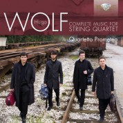 Quartetto Prometeo: Wolf: Complete Music for String Quartet - CD