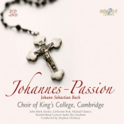 John Mark Ainsley, Stephen Richardson, Catherine Bott, Choir of King's College Cambridge, Stephen Cleobury: J.S. Bach: Johannes Passion - CD