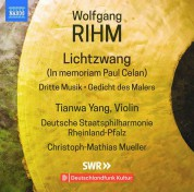 Staatsphilharmonie Rheinland-Pfalz, Christoph-Mathias Mueller, Tianwa Yang: Rihm: Music for Violin & Orchestra, Vol. 1 - CD