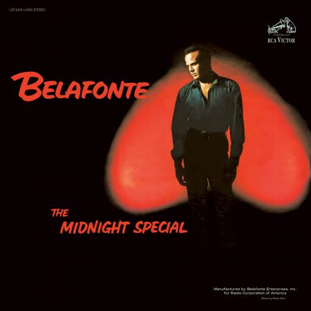 Harry Belafonte: The Midnight Special - Plak