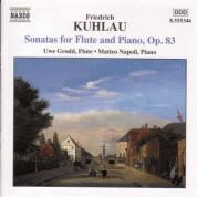 Kuhlau: Flute Sonatas Op. 83 - CD