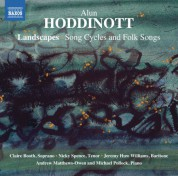 Claire Booth, Nicky Spence, Jeremy Huw Williams: Hoddinott: Landscapes - CD