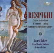 Janet Baker, Patricia Rosario, Louise Winter, Lynton Atkinson, Richard Hickox Singers, City of London Sinfonia, Richard Hickox: Respighi: Orchestral Songs - CD