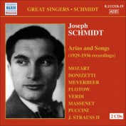 Joseph Schmidt: Schmidt, Joseph: Arias and Songs (1929-36) - CD