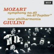 New Philharmonia Orchestra, Carlo Maria Giulini: Mozart: Symphonies Nos. 40 & 41 - Plak