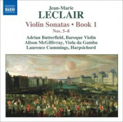 Adrian Butterfield: Leclair, J.-M.: Violin Sonatas, Op. 1, Nos. 5-8 - CD
