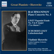 Rachmaninov: Piano Concerto No. 3 / Liszt: Paganini Etudes  (Horowitz) (1930) - CD