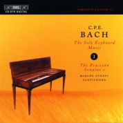 Miklós Spányi: C.P.E. Bach: Solo Keyboard Music, Vol. 1 - CD
