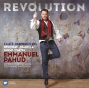 Emmanuel Pahud: Revolution - Flute Concertos - CD