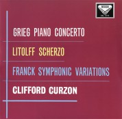 Sir Clifford Curzon, London Philharmonic Orchestra, Sir Adrian Boult: Grieg: Piano Concerto Op. 16 - Plak