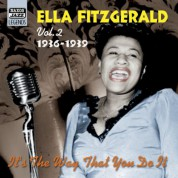 Ella Fitzgerald: Fitzgerald, Ella: It's the Way That You Do It (1936-1939) - CD