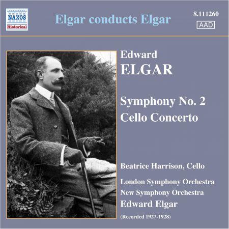 Sir Edward Elgar: Elgar: Symphony No. 2 / Cello Concerto 1927-28) - CD