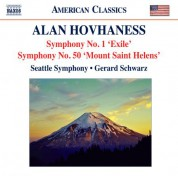 Gerard Schwarz: Hovhaness: Symphonies Nos. 1, 'Exile Symphony' and 50, 'Mount St. Helen' - CD