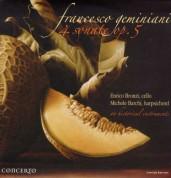 Enrico Bronzi: Geminiani: 4 Sonate Op. 5 - Plak
