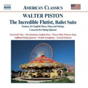 Piston: The Incredible Flutist / Fantasy for English Horn, Harp and Strings - CD