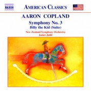 James Judd, New Zealand Symphony Orchestra: Copland: Symphony No. 3 - Billy the Kid Suite - CD