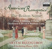 Artem Belogurov: American Romantics - CD