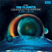 Los Angeles Philharmonic Orchestra, Zubin Mehta: Holst: The Planets - Plak