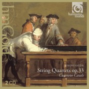 Cuarteto Casals: Haydn: String Quartets Op.33 - CD