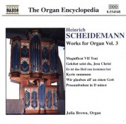 Julia Brown: Scheidemann: Organ Works, Vol. 3 - CD