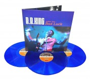 B.B. King: Nothin' But... Bad Luck  (Blue Vinyl) - Plak