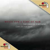 The Oregon Symphony, Carlos Kalmar: Music for a Time of War - SACD