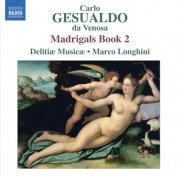 Delitiae Musicae: Gesualdo: Madrigals, Book 2 - CD