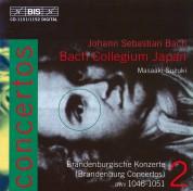 Bach Collegium Japan, Masaaki Suzuki: J. S. Bach - Concertos, Vol.2 (Brandenburg Concertos BWV 1046-1051) - CD