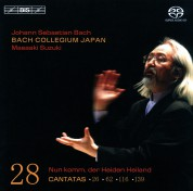 Bach Collegium Japan, Masaaki Suzuki: J.S. Bach: Cantatas, Vol. 28 (BWV 26, 28, 62, 116 and 139) - SACD