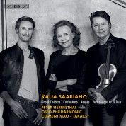 Peter Herresthal, Oslo Philharmonic Orchestra, Clement Mao-Takacs: Saariaho: Circle Map, Graal Théâtre & other works - SACD