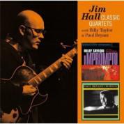 Jim Hall: Classic Quartets - Impromptu + Burnin' - CD