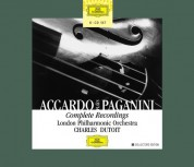 Charles Dutoit, London Philharmonic Orchestra, Salvatore Accardo: Paganini: Works For Violin & Orch. - CD