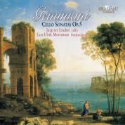Jaap ter Linden, Lars Ulrik Mortensen, Judith-Maria Becker: Geminiani: Cello Sonatas Op. 5 - CD