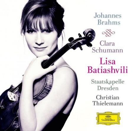Alice Sara Ott, Christian Thielemann, Lisa Batiashvili, Staatskapelle Dresden: Brahms/ Schumann: Violinkonzert Op. 77 c./ 3 Romanzen Op. 22 - CD