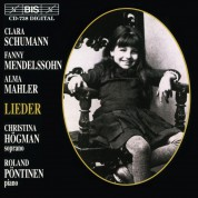 Christina Högman, Roland Pöntinen: Clara, Fanny, Alma: Lieder by and with women - CD