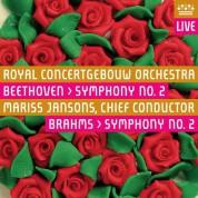 Mariss Jansons, Royal Concertgebouw Orchestra: Brahms, Beethoven: Symphony No 2 - SACD