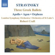 Robert Craft: Stravinsky: Apollo - Agon - Orpheus - CD