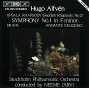Royal Stockholm Philharmonic Orchestra, Neeme Järvi: Alfvén: Symphony No.1 in F minor - CD