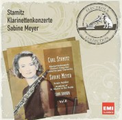 Sabine Meyer, Sergio Azzolini, Academy of St. Martin in the Fields, Iona Brown: Stamitz: Klarinettenkonzerte Vol.2 - CD