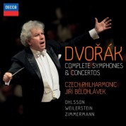 Alisa Weilerstein, Czech Philharmonic Orchestra, Frank Peter Zimmermann, Garrick Ohlsson, Jiří Bĕlohlávek: Dvořák: Complete Symphonies & Concertos - CD