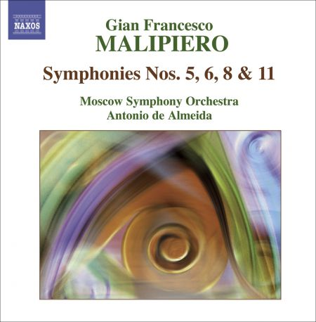 Antonio de Almeida: Malipiero: Symphonies, Vol. 3 - Nos. 5, 6, 8, 11 - CD