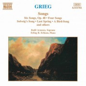Grieg: Songs - CD