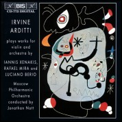 Irvine Arditti, Moscow Philharmonic Orchestra, Jonathan Nott: Xenakis & Berio: works for violin and orchestra - CD
