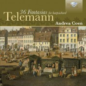 Andrea Coen: Telemann: 36 Fantasies for Harpsichord - CD