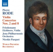 Friedemann Eichhorn: Rode: Violin Concerto No 2 & 8 - CD