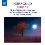 Britta Stallmeister: Korngold: Songs, Vol. 1 - CD